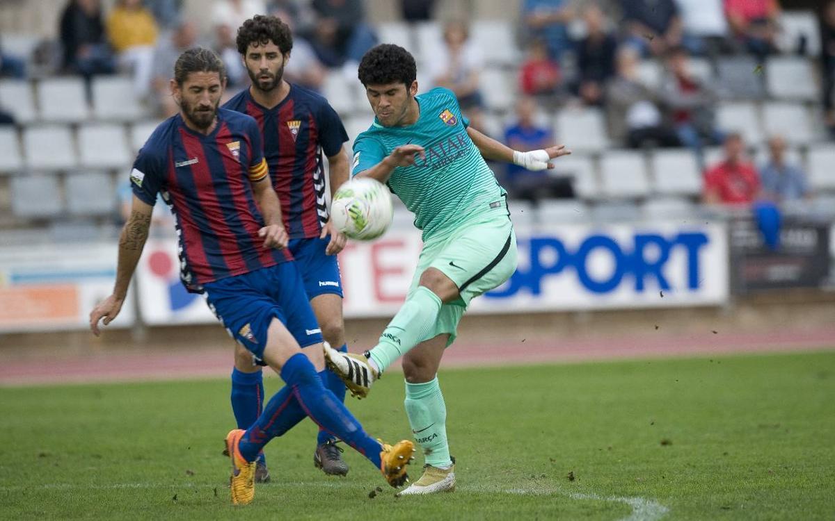 CD Eldense – Barça B: Partit trampa a Elda