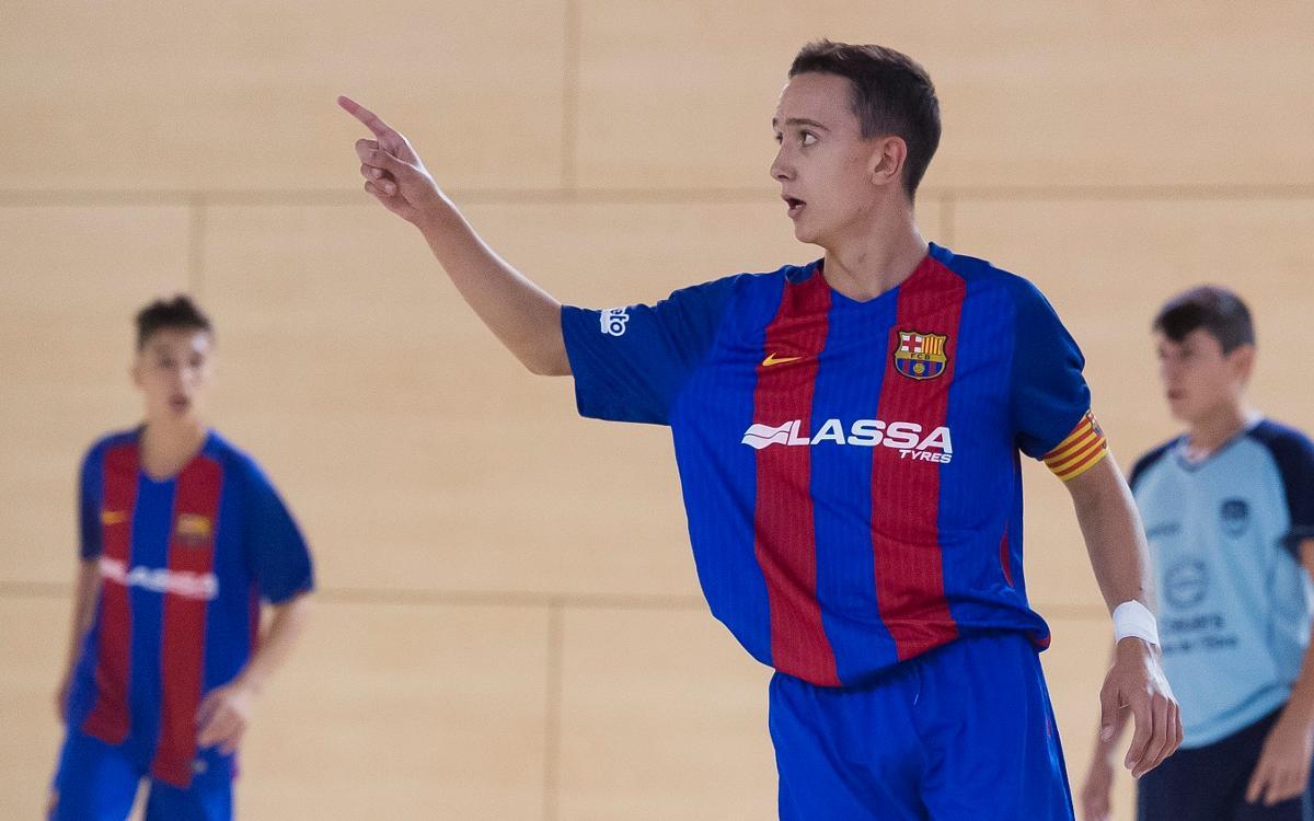 Los equipos de la cantera, protagonistas de la World Futsal Cup de Blanes