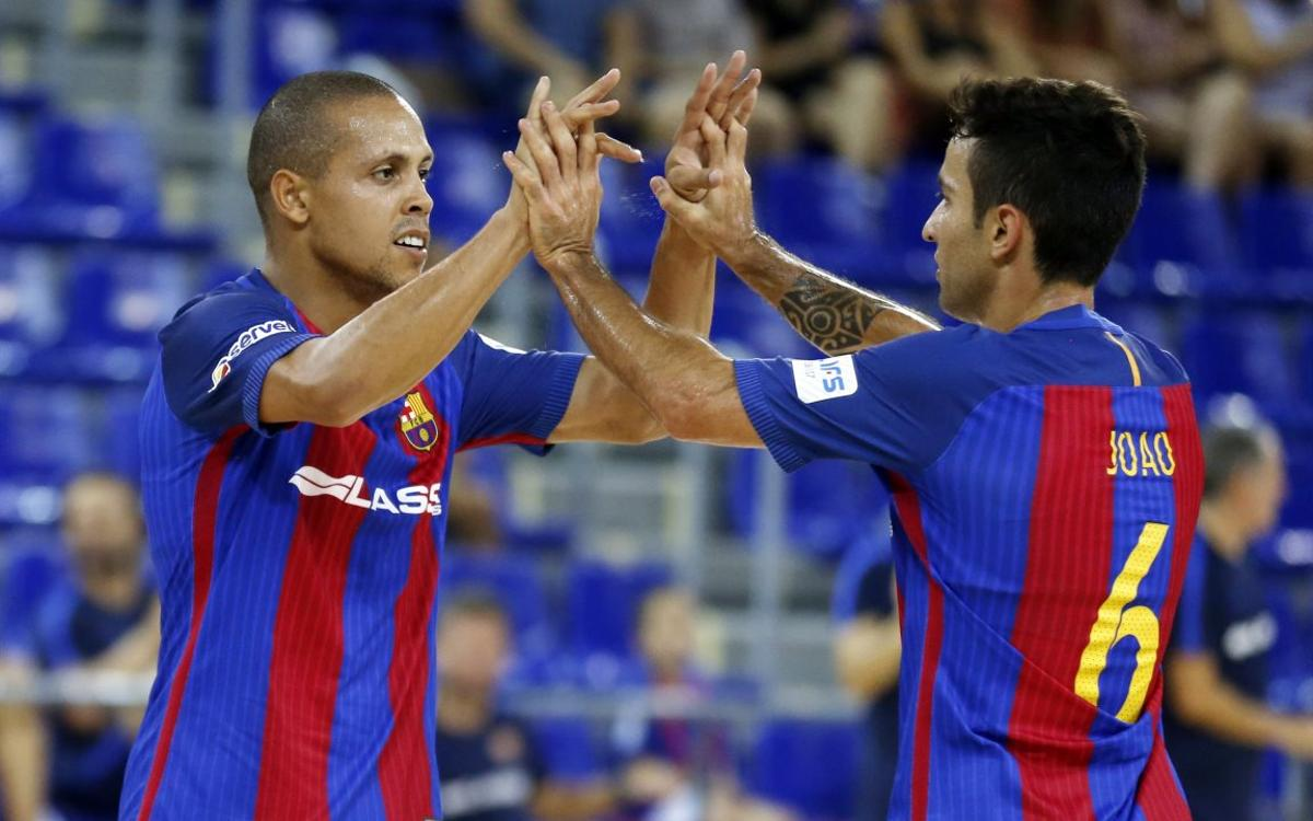 CD Xota v FC Barcelona Lassa: Victory and first place to end the year (1-3)