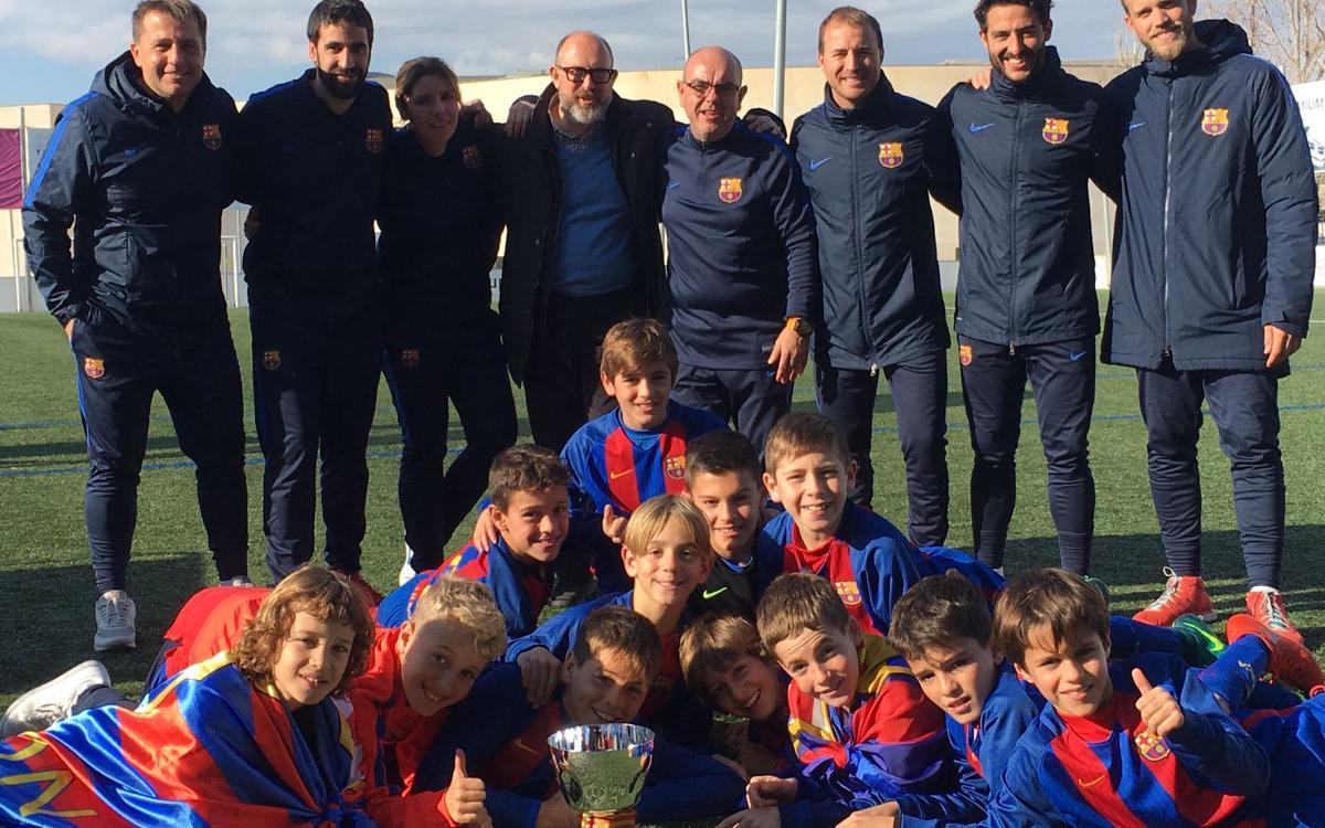 El Alevín C gana la Power Gol Cup