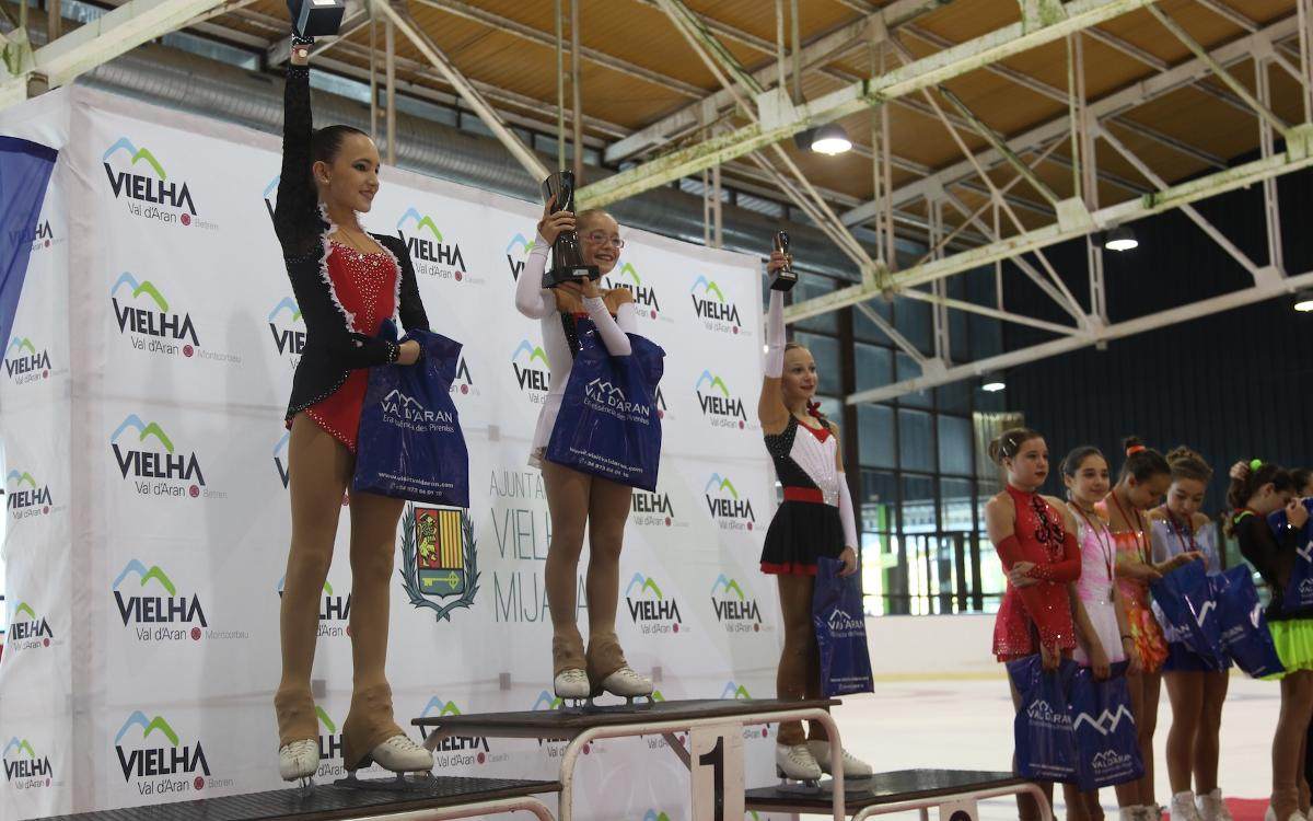 Catorce podios azulgranas en la Copa CEGVA