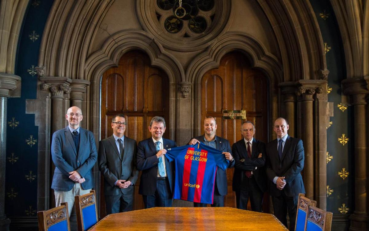 FC Barcelona describes its values in Glasgow in association with the Ramon Llull Institute