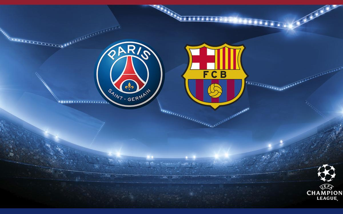 PSG to face Barça on Champions League last 16