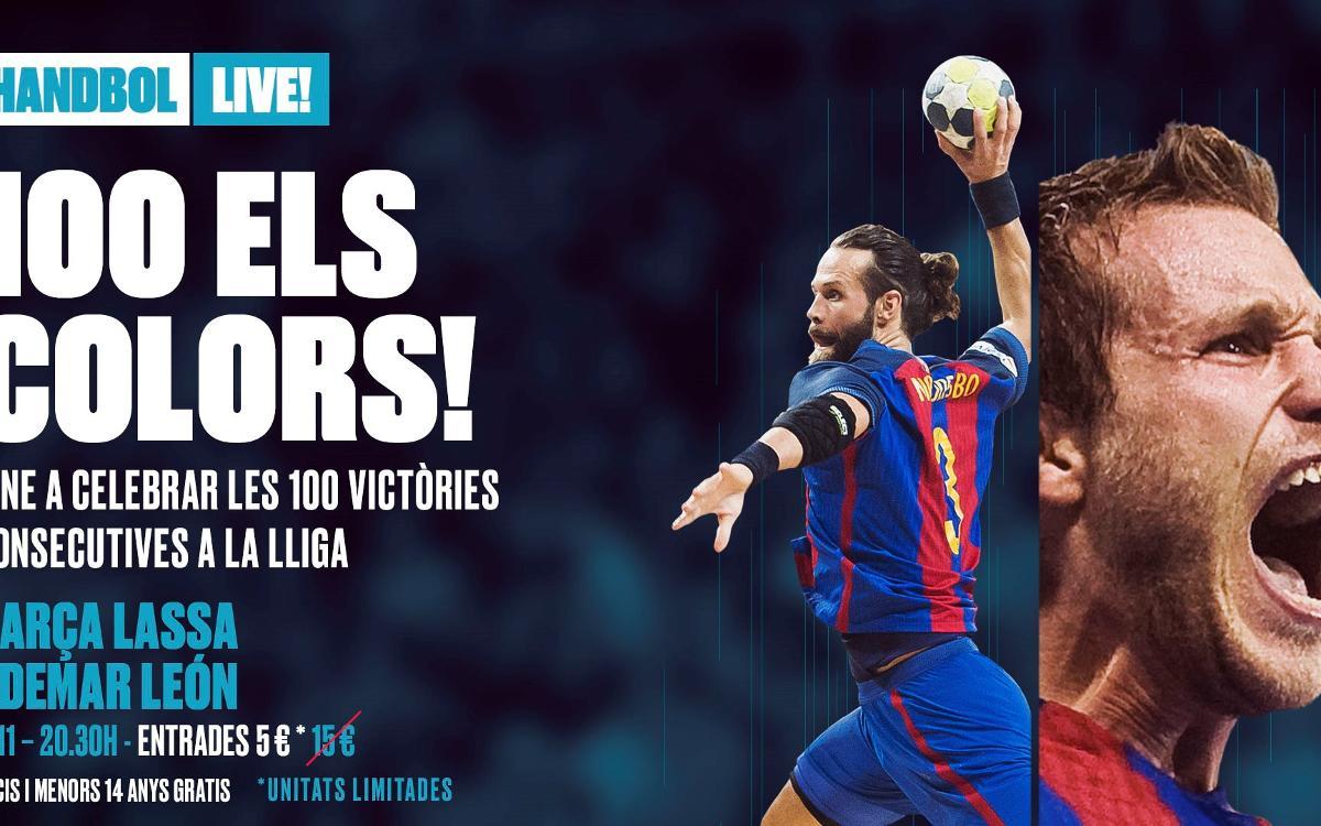 Barça – Ademar: 10 motius per venir al Palau Blaugrana