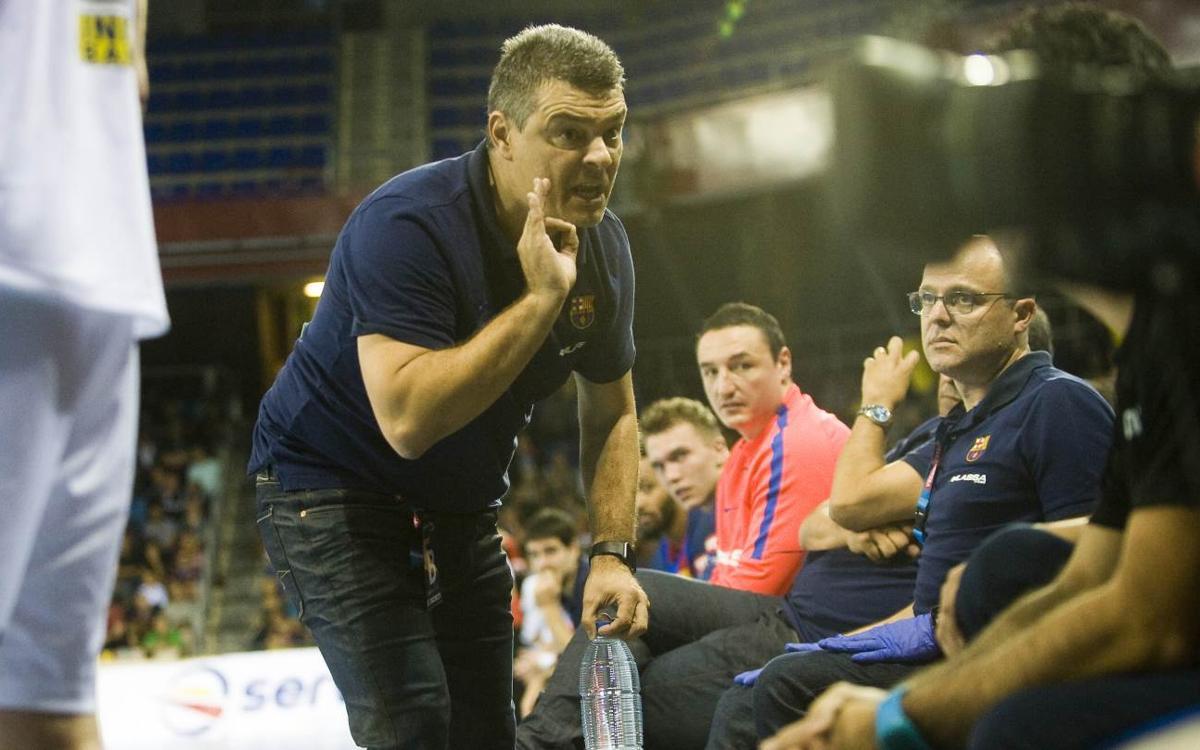 """Xavi Pascual: """"Juguem contra un dels equips més importants d'Europa"""""""
