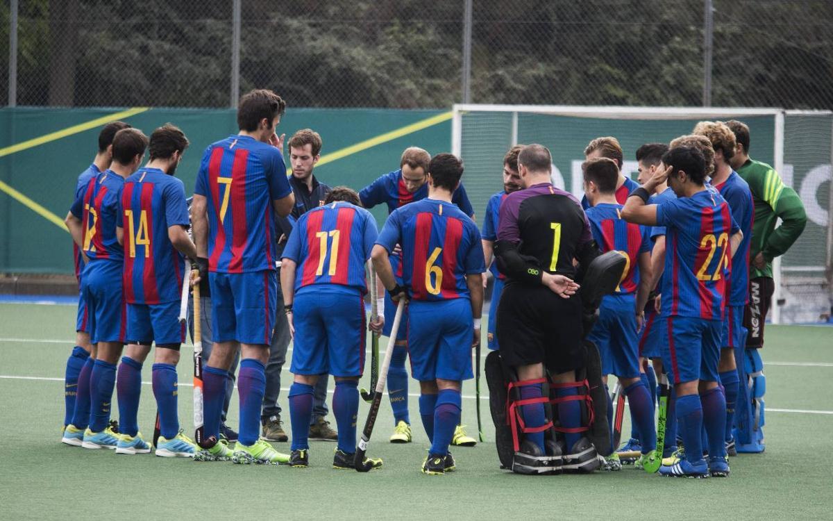 El Barça de hockey hierba finaliza la primera vuelta en octava posición y clasificado para la Copa del Rey