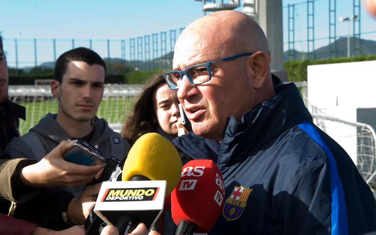 Xavi Llorens: The team is growing on every level