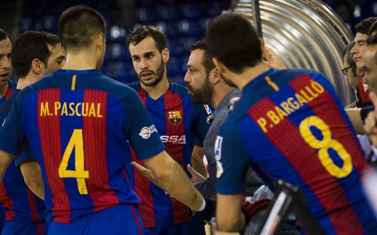 "Ricard Muñoz i Pablo Álvarez: ""Contra el Bassano hem de ser cinc porters"""