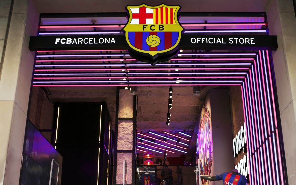 bbb3694287824 El FC Barcelona abre una tienda en el centro de Barcelona de la mano de Nike
