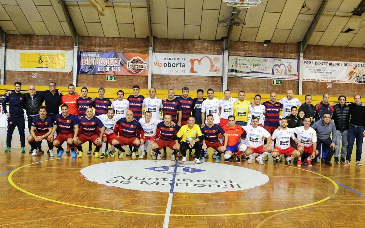 Els exjugadors del Barça col·laboren amb La Marató de TV3