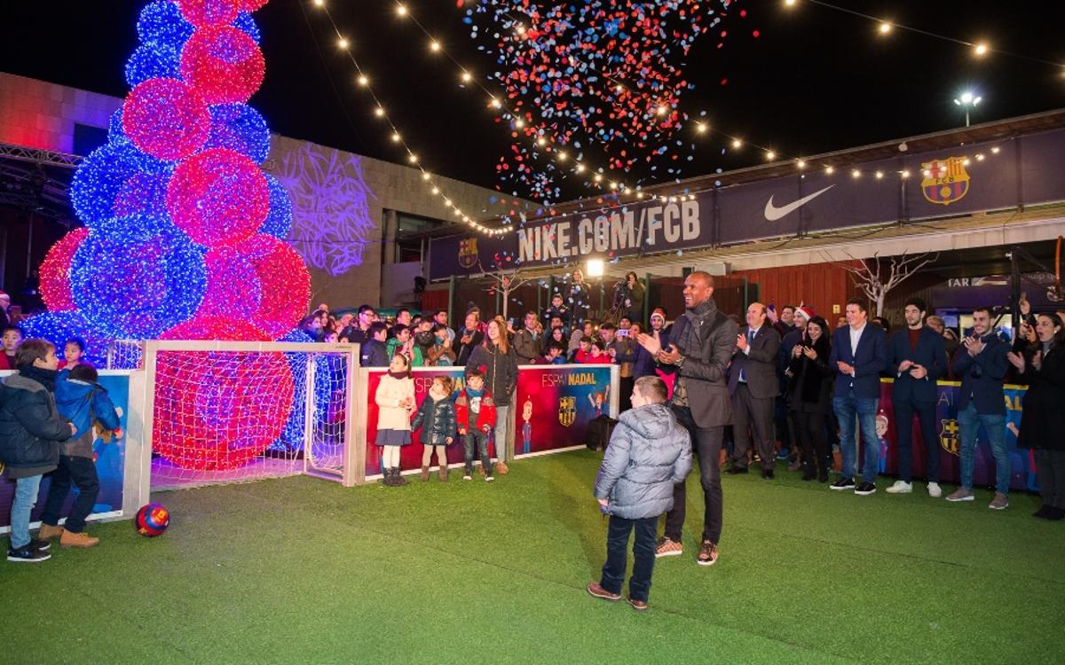 Inaugurado el Espai Nadal del Camp Nou