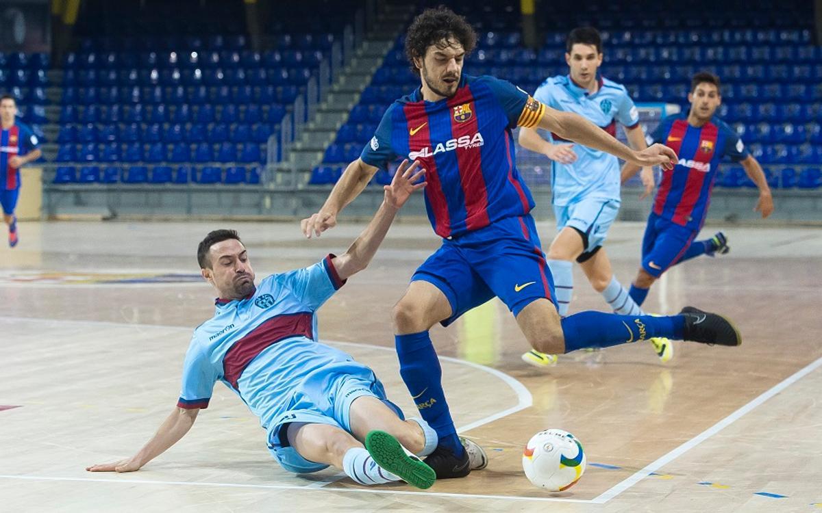 FC Barcelona Lassa-Levante UD DM: Van a más (3-0)