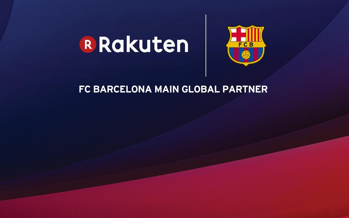 Rakuten sign up as FC Barcelona's new main global partner