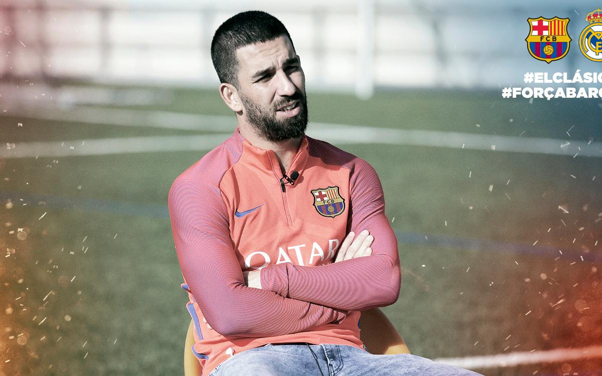 Arda Turan looking forward to 'special' Clásico