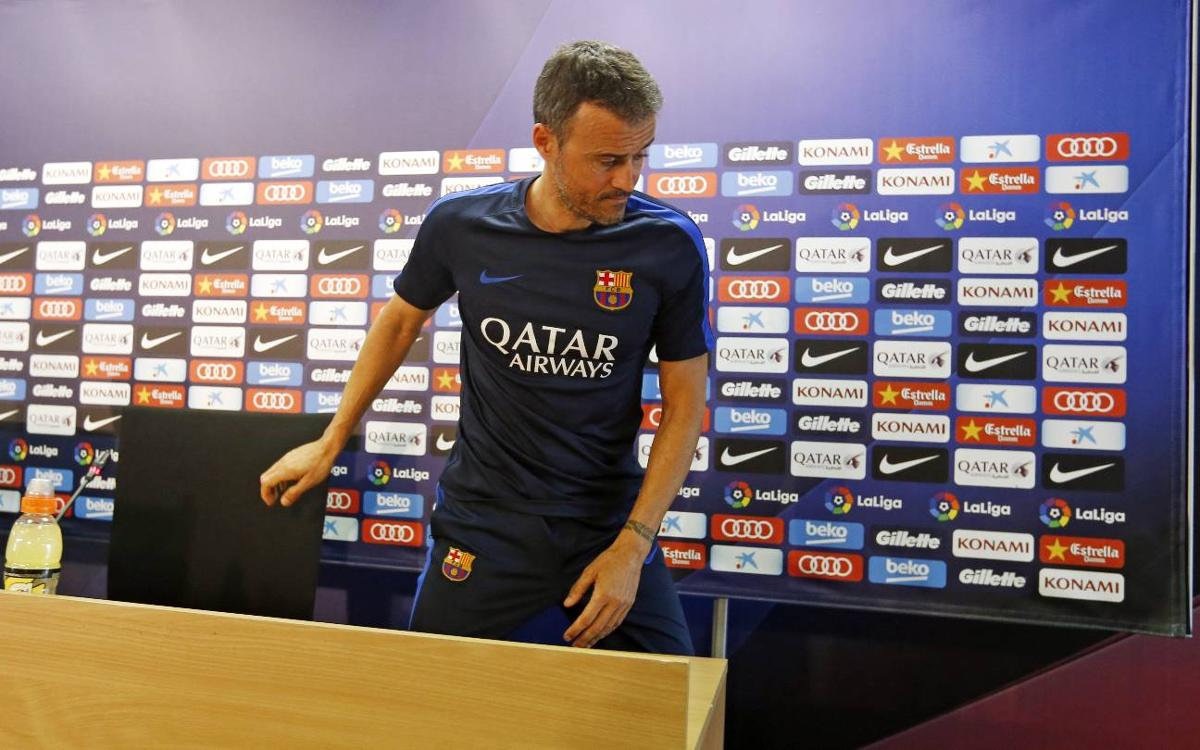 FC Barcelona's Luis Enrique wary of threat posed by high-flying Sevilla FC