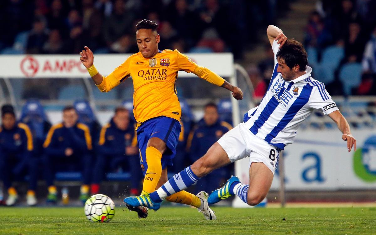 FC Barcelona seeking to end negative run at Anoeta