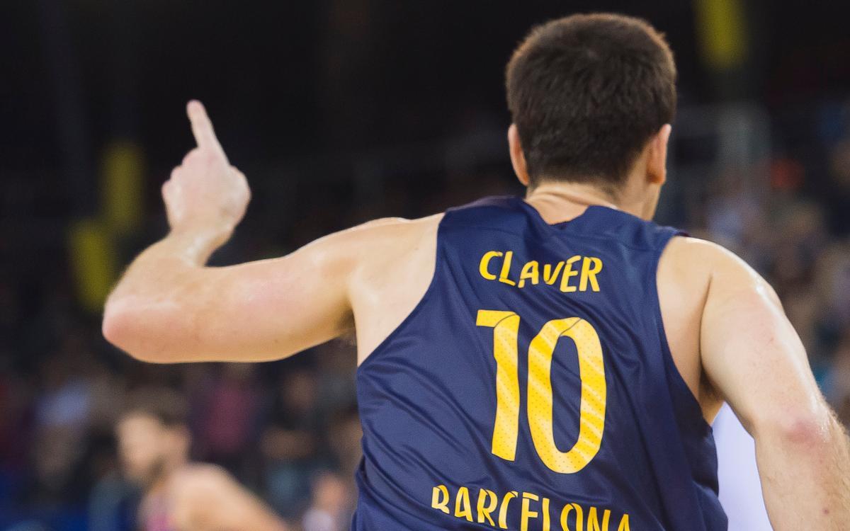 Víctor Claver, cuatro semanas de baja