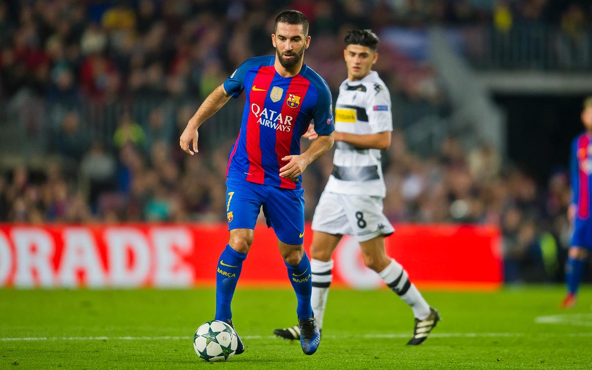 FCB4-0ボルシア M: アルダのリードでゴールリサイタル