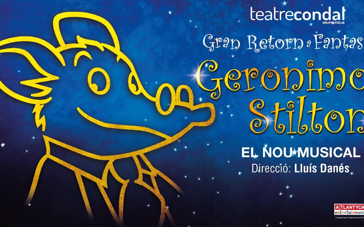 Funció especial del musical 'Geronimo Stilton' per a socis, directius i vips blaugrana
