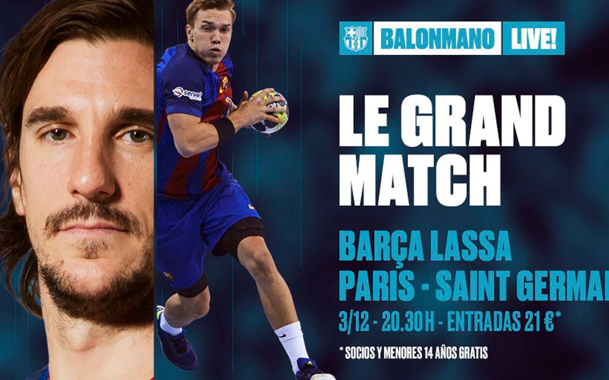 Barça-PSG: Balonmano de alto voltaje en el Palau Blaugrana