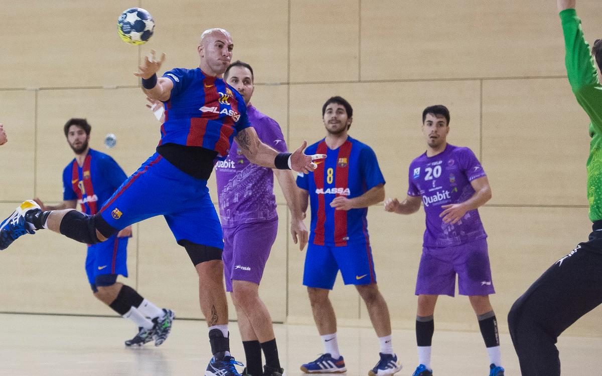 Quabit Guadalajara - FC Barcelona Lassa B: Tres goles que permiten soñar