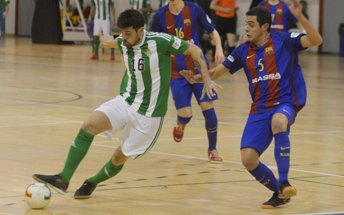 El filial conserva el liderat amb un empat a la pista del Betis (3-3)