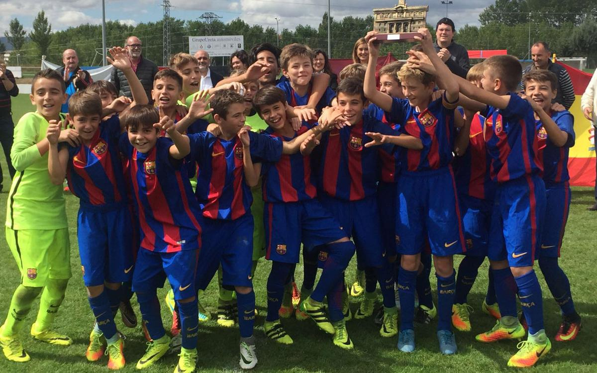 L'Infantil B guanya el prestigiós torneig Ciudad de Miranda