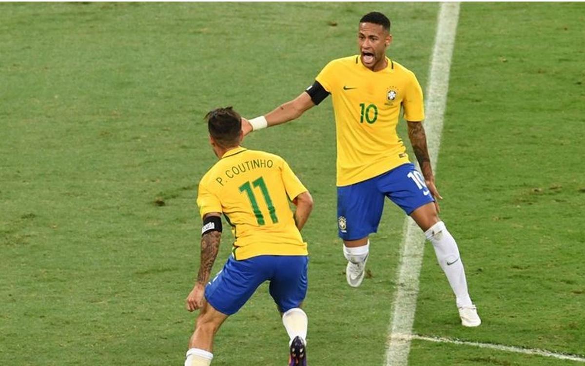 A Neymar Jr inspired Brazil defeat Messi and Mascherano's Argentina (3-0)