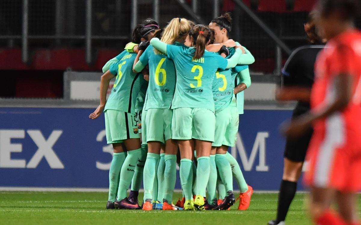 FC Twente v FC Barcelona Women: Goal fest and the quarter finals await! (4-0)