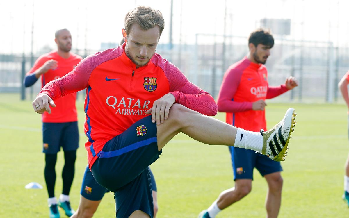 Preparations for Sevilla underway