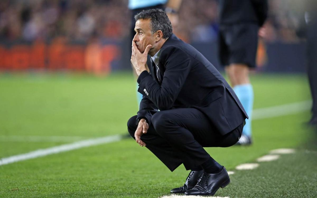 FC Barcelona manager Luis Enrique laments unrewarded effort against Málaga