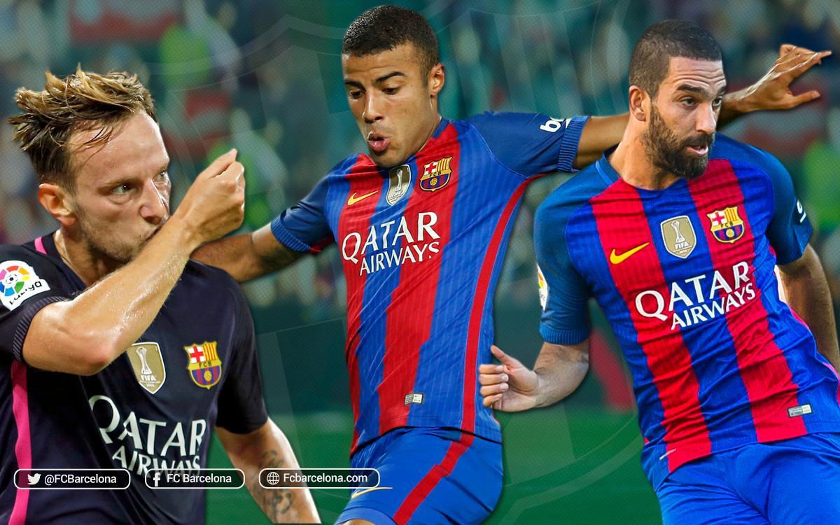 FC Barcelona's midfield has an eye for a goal