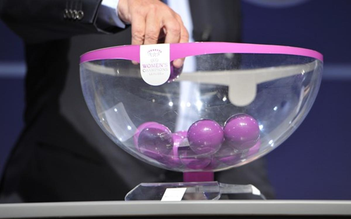 FC Barcelona await Champions League quarter finals draw in Nyon