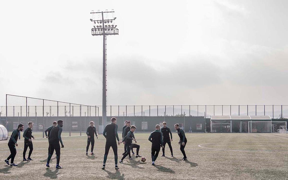 Les 'toros' du Barça, au centre du spot publicitaire de Nike