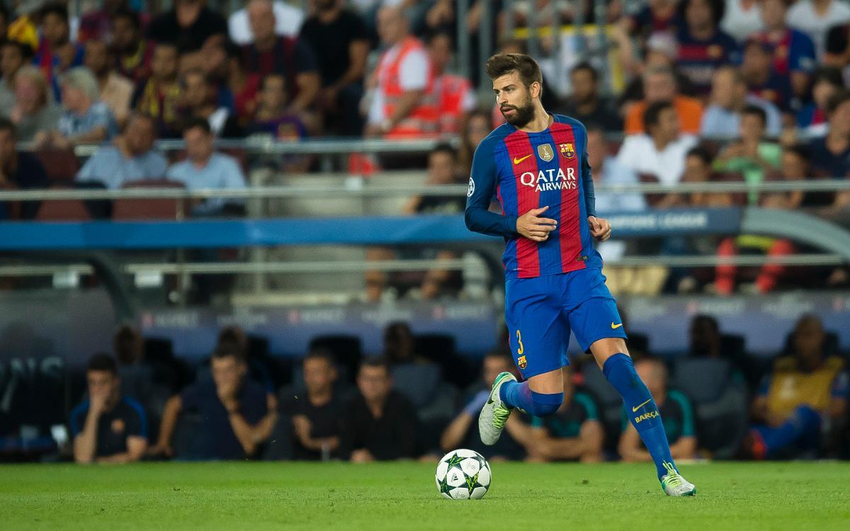 Gerard Piqué, mejor jugador catalán de la temporada 2015/16