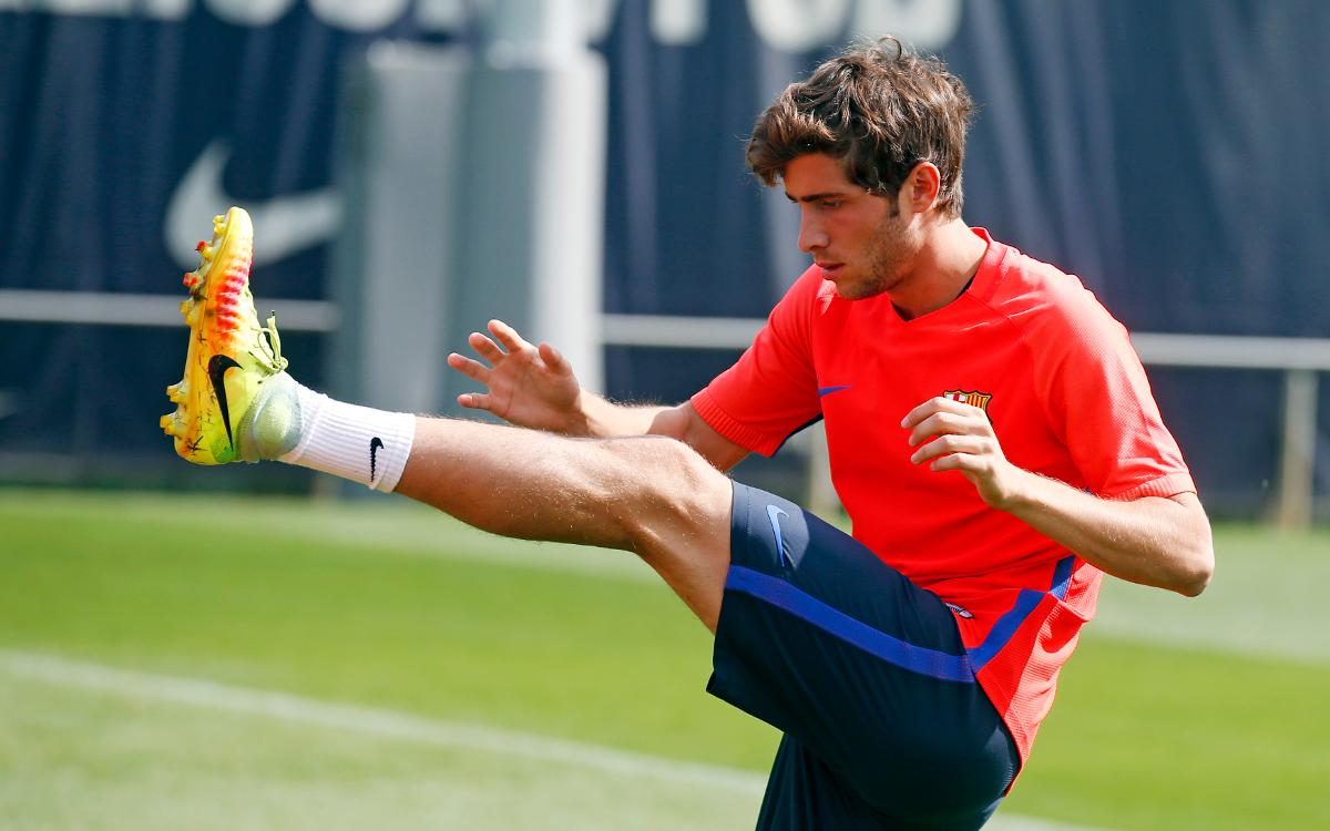 Sergi Roberto ready to repeat the Clásico experience