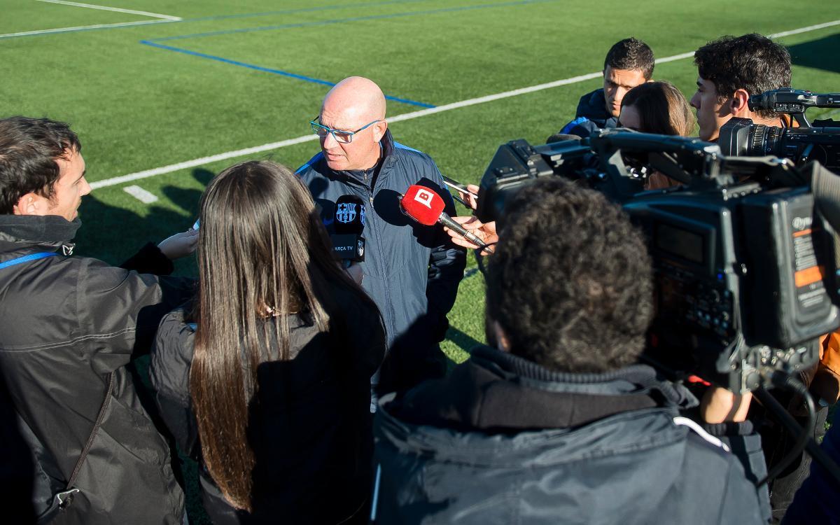 """Xavi Llorens: """"Hem de gaudir d'aquest partit"""""""