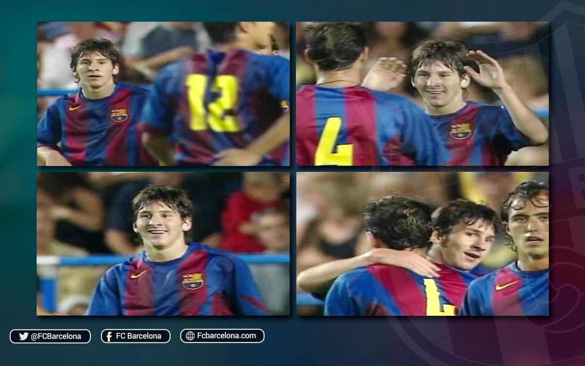 ¿Recuerdas el primer gol de Messi?