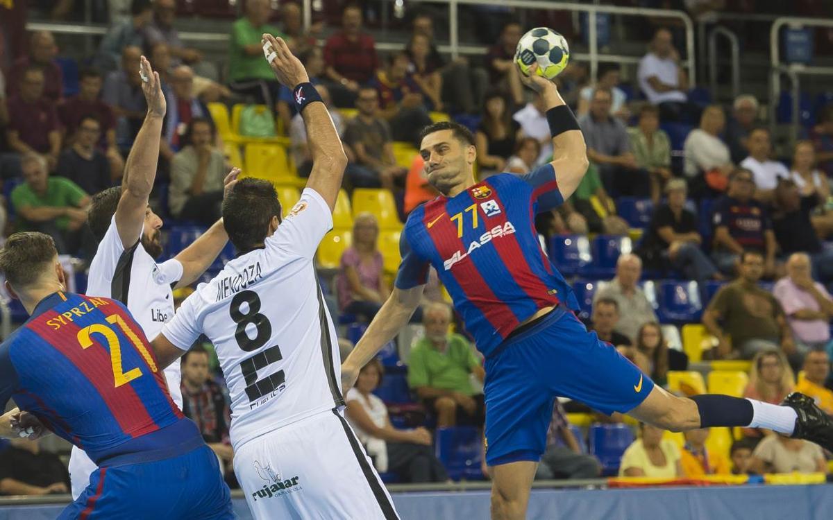 FC Barcelona Lassa – Liberbank Ciudad Encantada: Victoria plácida para seguir creciendo (34-15)