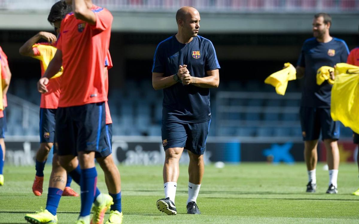 """Gabri Garcia: """"Veient el Celtic he trobat un equip físic però amb qualitat i creativitat individual"""""""
