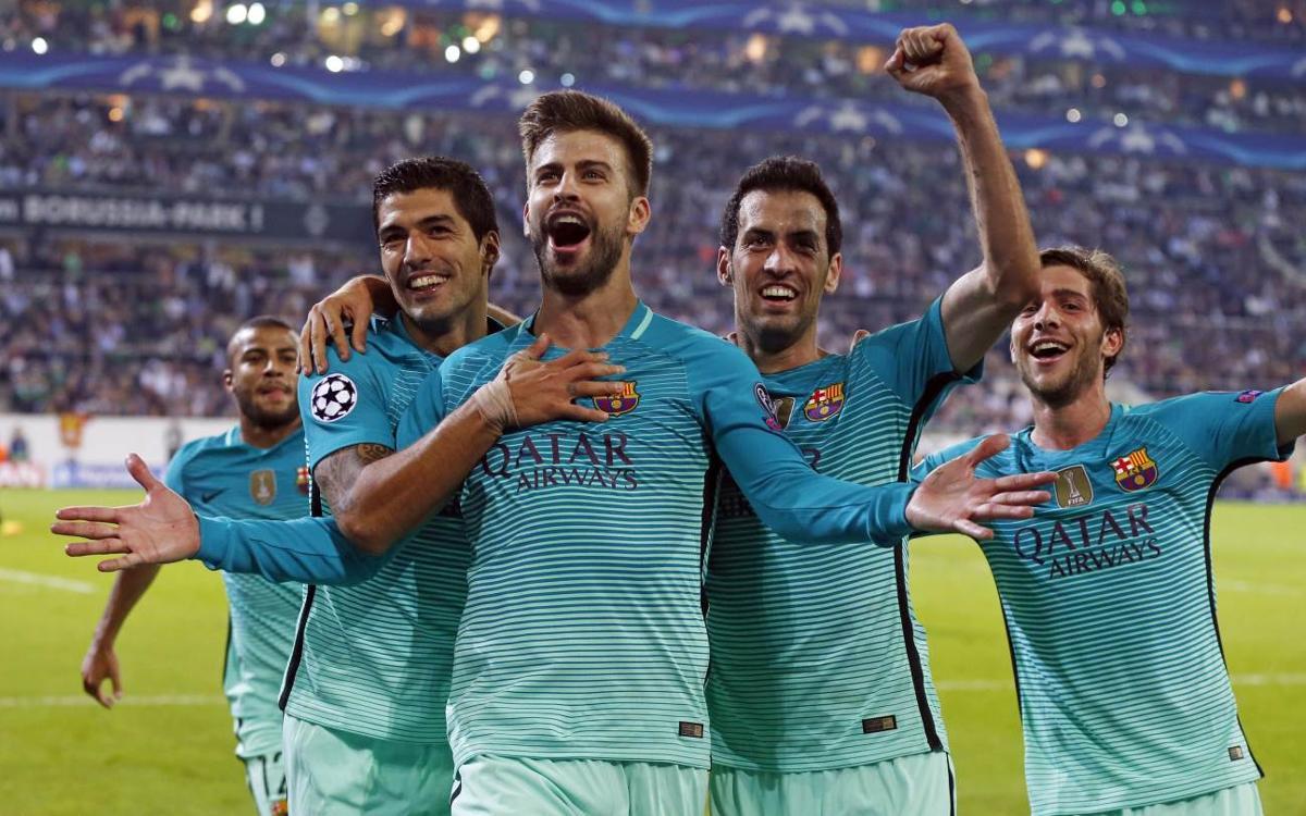 Borussia Mönchengladbach - FC Barcelona: Remontada paciente (1-2)