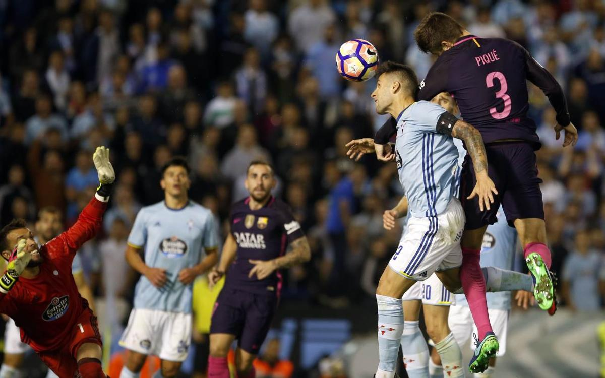 League video highlights: Celta v FC Barcelona