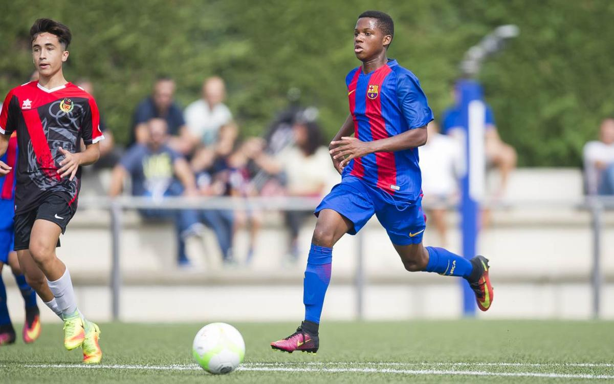 5 more belters from the FC Barcelona Academy teams