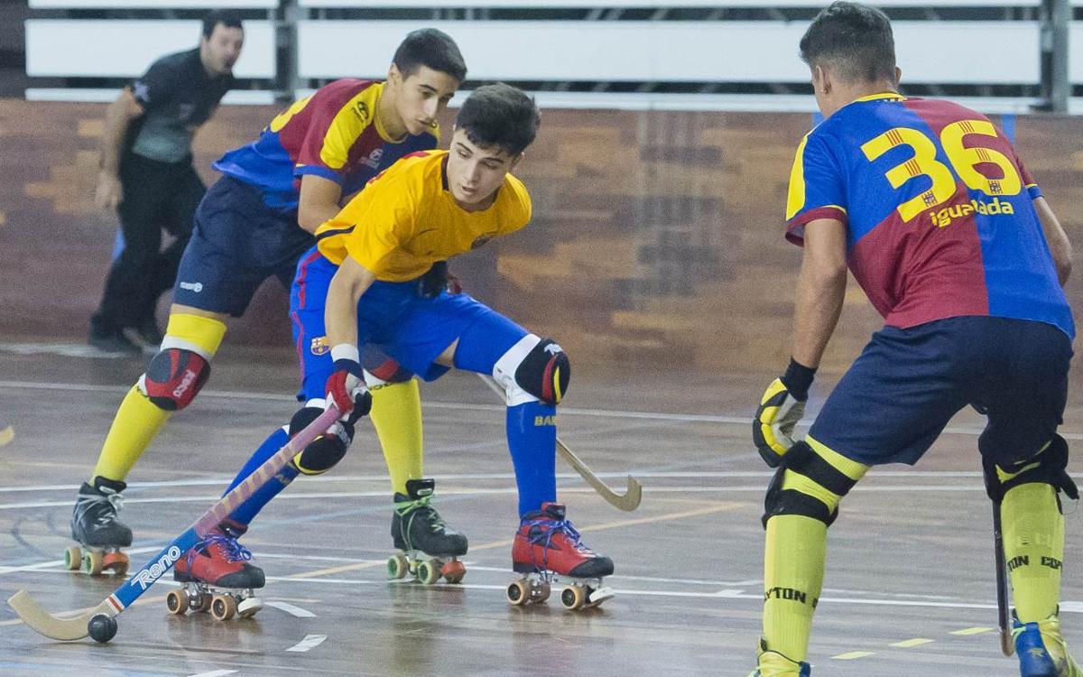 El Barça Juvenil troba el camí del triomf en un cap de setmana exitós