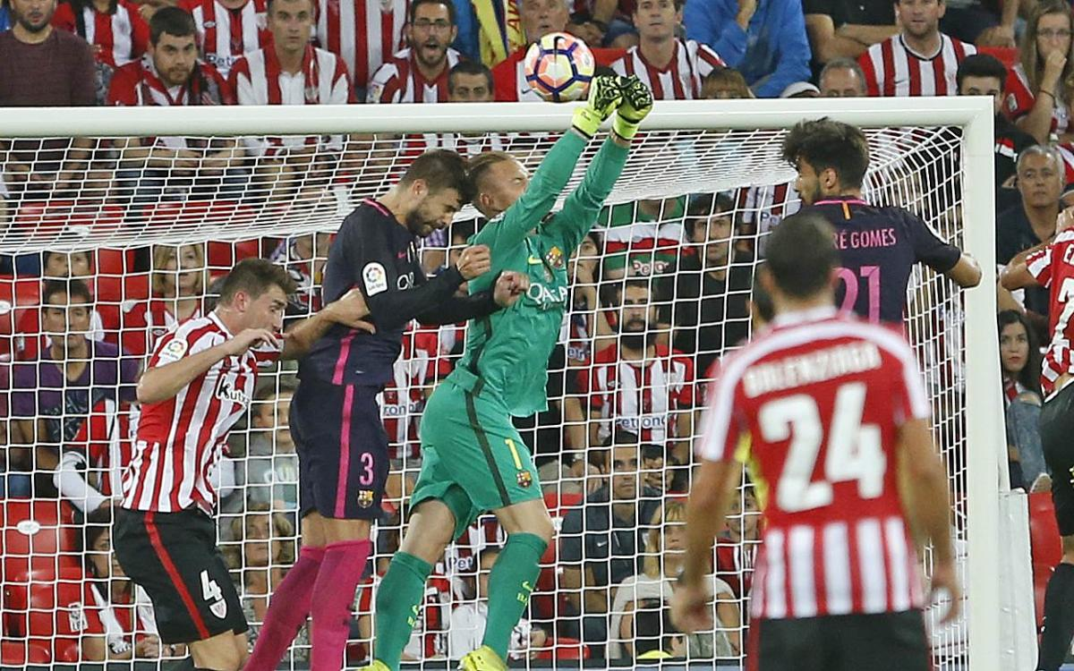 By the numbers: FC Barcelona's 1–0 victory over Athletic Club