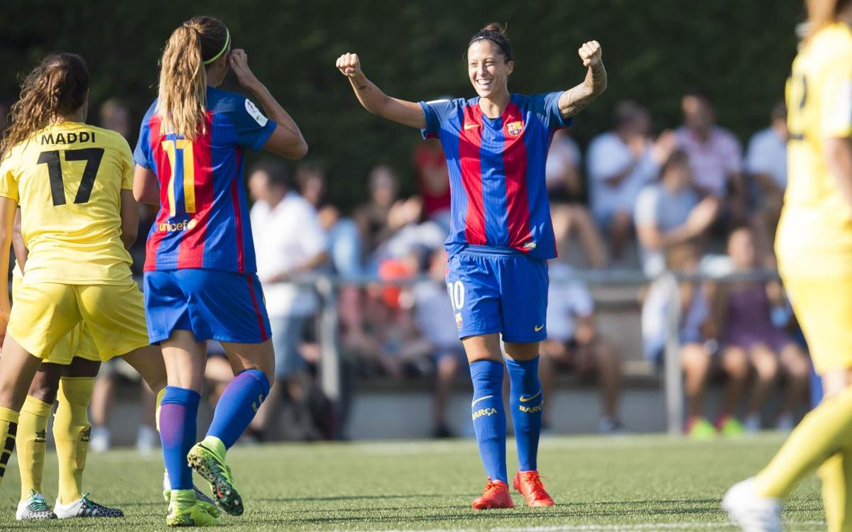 FC Barcelona Women v Santa Teresa CD: Goal-fest in home debut (6-0)