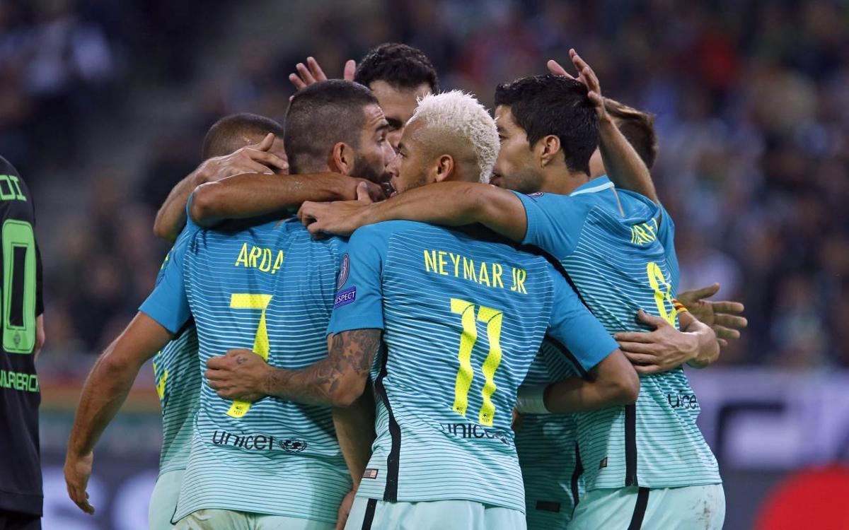 FC Barcelona outright leaders after Celtic and Man City draw