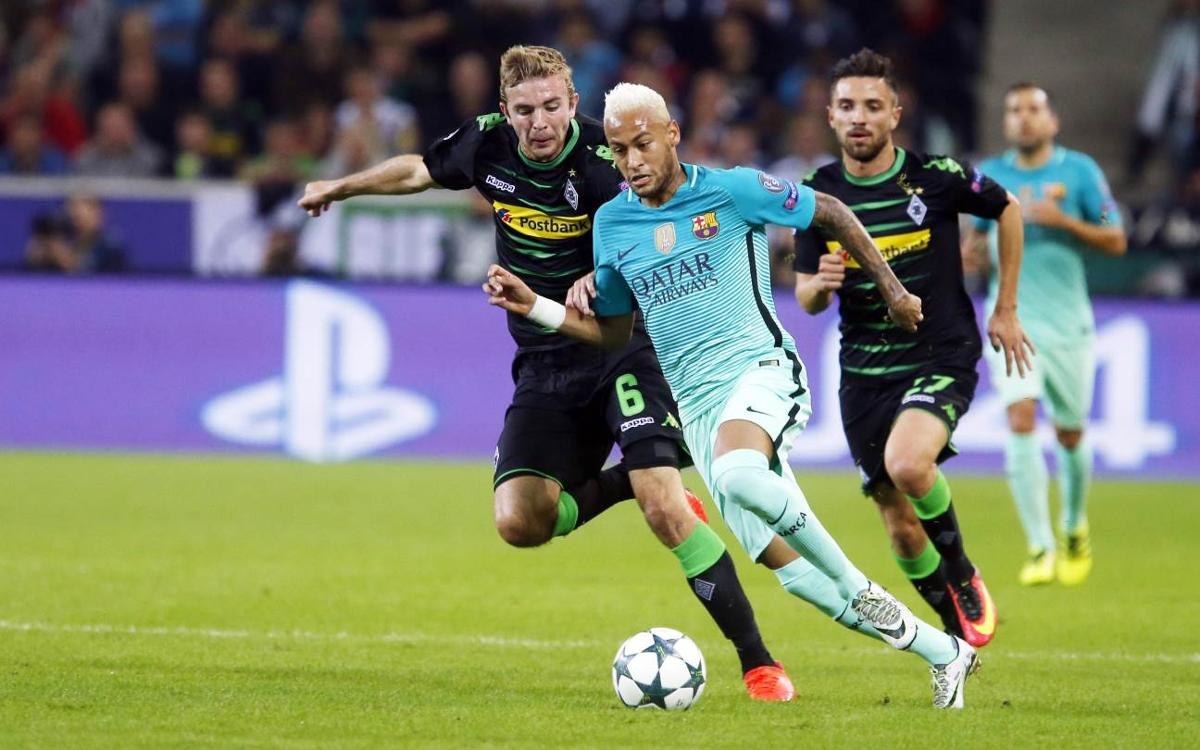 Champions League highlights: Borussia Mönchengladbach v FC Barcelona