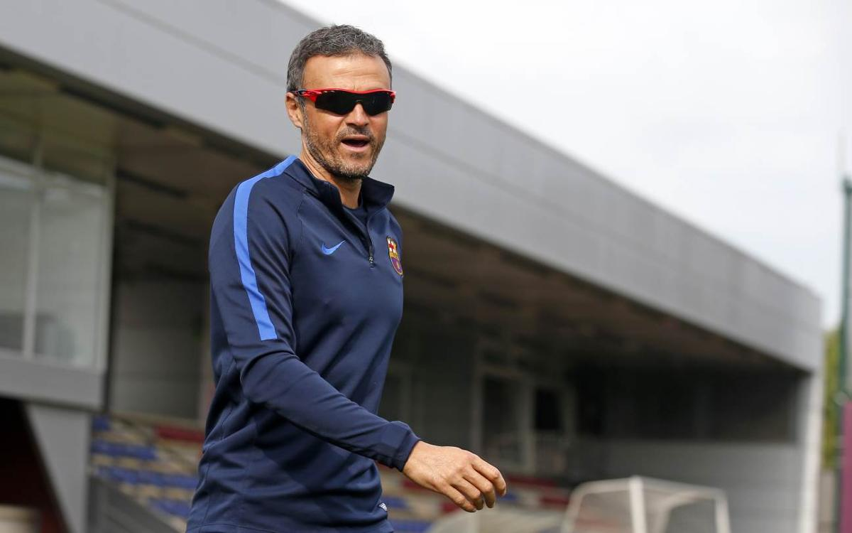 Luis Enrique expects a tough game against Celta for FC Barcelona