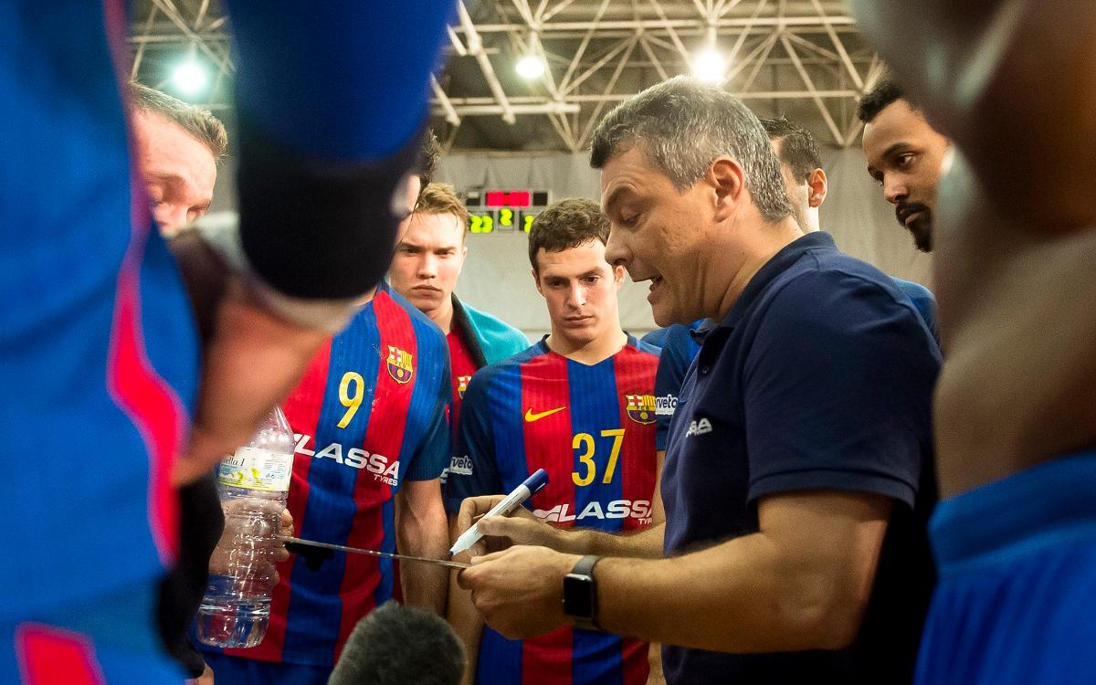 "Xavi Pascual: ""Tenim l'equip preparat per competir"""